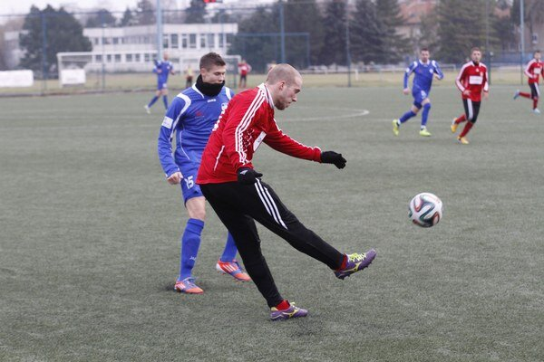 Patrik Vajda je už opäť s mužstvom.