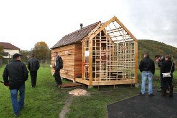 Dedinská sauna vo Zvolenskej Slatine.