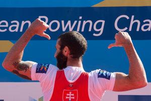 Lukáš Babač je majstrom Európy v skife ľahkých váh.