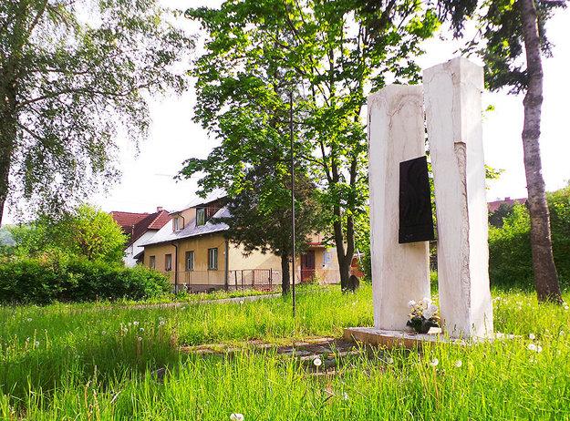 Pamätník Slovenského národného povstania v Habovke.