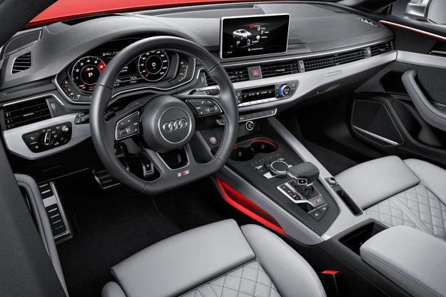 Pohľad do interiéru nového S5 Coupé