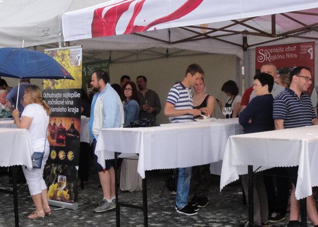 Festival chutí ponúkol aj degustácie najlepších ročníkových vín kraja.