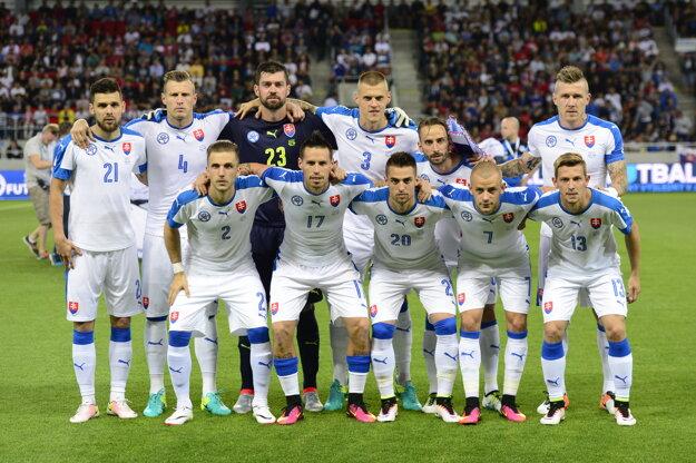 Tímová fotka pred zápasom.