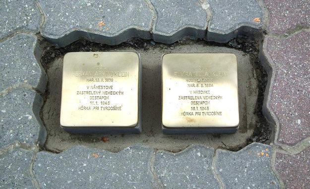 Tu žili Herman a Elvíra Kleinovci.