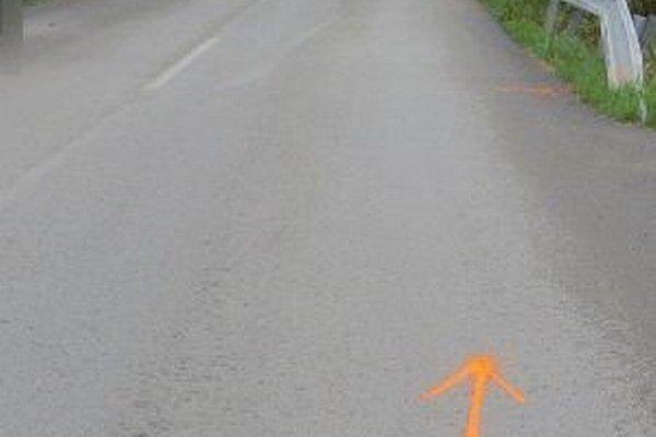Vodička si nesplnila povinnosť účastníka dopravnej nehody a  odišla na neznáme miesto.