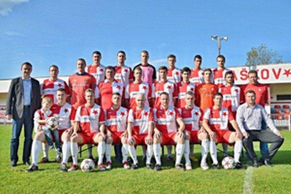 Víťaz V. ligy FK Slávia Staškov.