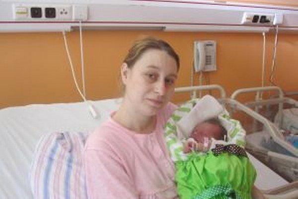 Maličká Michalka Pytlová je v Kysuckej nemocnici prvým novoročným bábätkom.