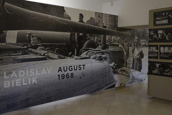 Jedna zo stálych expozícií Tekovského múzea je venovaná životu a dielu Ladislava Bielika.