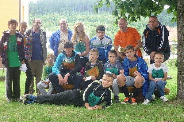 Mladí turisti z Bátoviec.