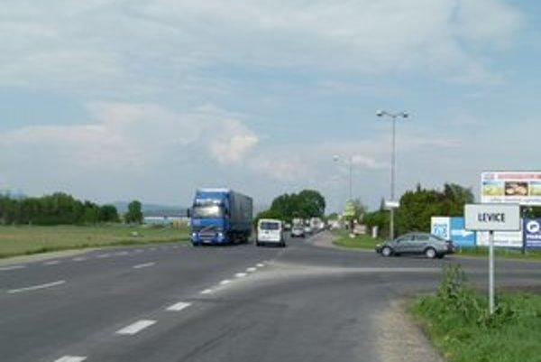 Severný obchvat Levíc by sa mal začať pri vstupe do mesta od Nitry vedľa mliekarní.