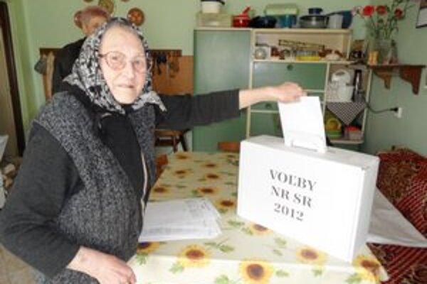 Zuzana Debnárová z Bohuníc v tohtoročných parlamentných voľbách dala hlas rovnakej strane ako naposledy.
