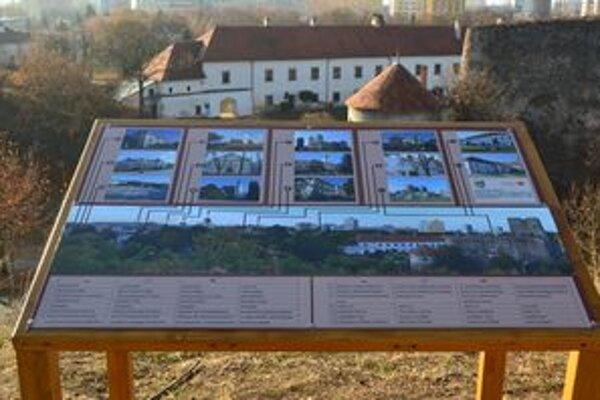 Na levickej Kalvárii pribudla nová panoramatická informačná tabuľa.