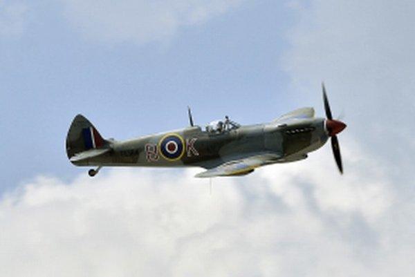 Britské vojenské lietadlo z čias 2. svetovej vojny Supermarine Spitfire.