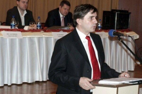 Primátor Malaciek Jozef Ondrejka.