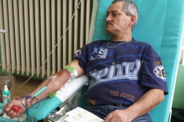 95-násobný darca krvi Jozef Jánošík.