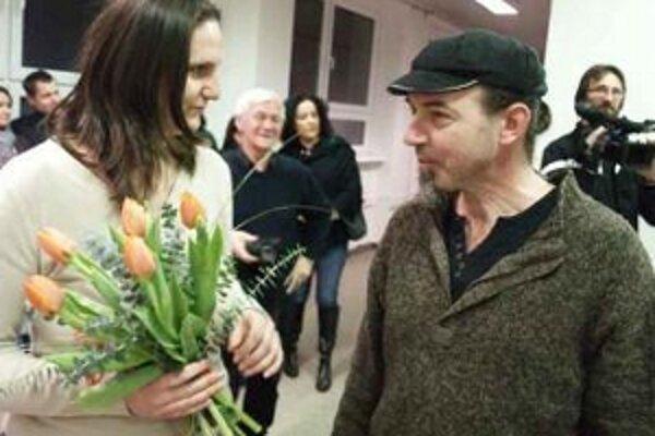 Na výstave Milana Mikulu (vpravo) budú tvoriť návštevníci