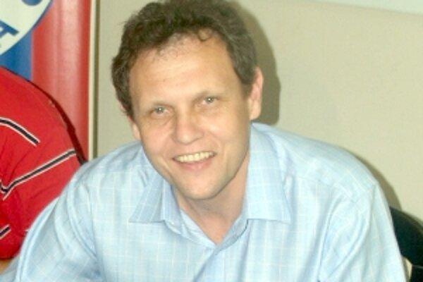 Tréner FK Senica Stanislav Griga.