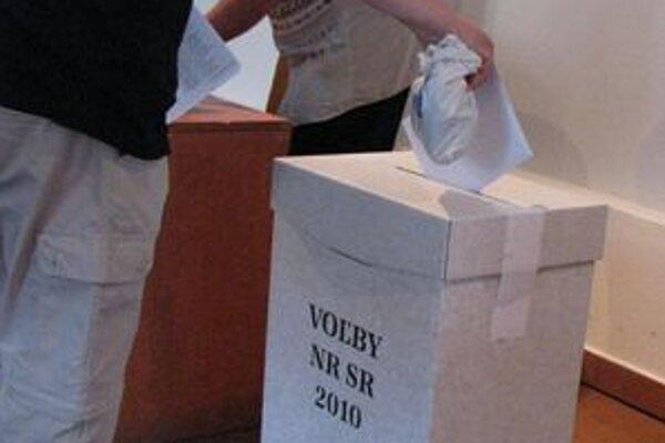 Priebeh volieb je zatiaľ pokojný.