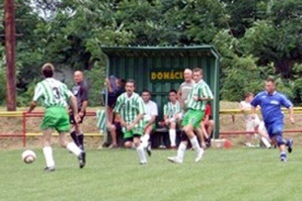 Ilustračná fotografia zo zápasu Borského Sv. Jura.