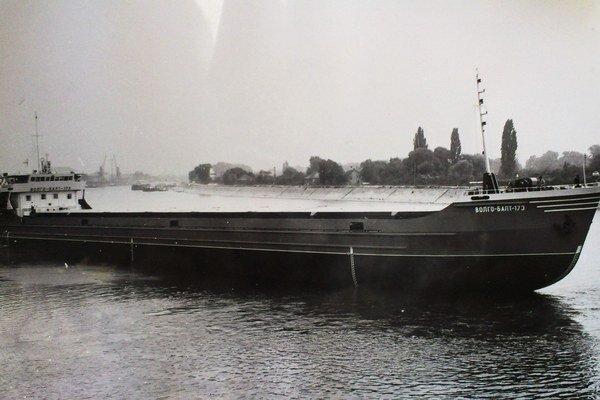 Dnes už historická loď.