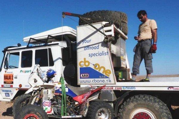 Robert Kasák už absoloval dva ročníky Africa Eco Race, ktorá sa jazdí na trase pôvodnej Rely Paríž - Dakar.