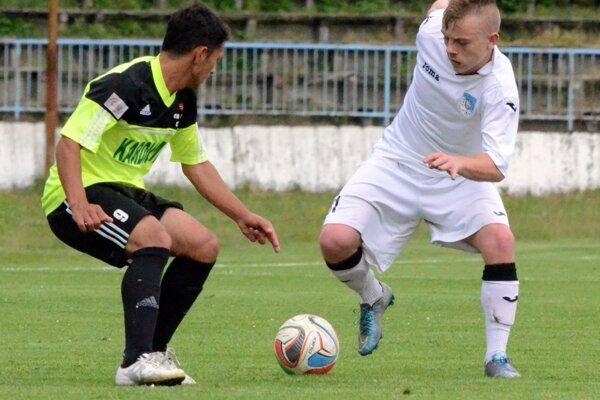Rado Ďanovský strelil v zápase s Kalinovom dva góly.