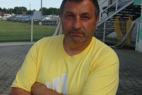 Miroslav Kéry, tréner seniorského tímu MŠK Rimavská Sobota.