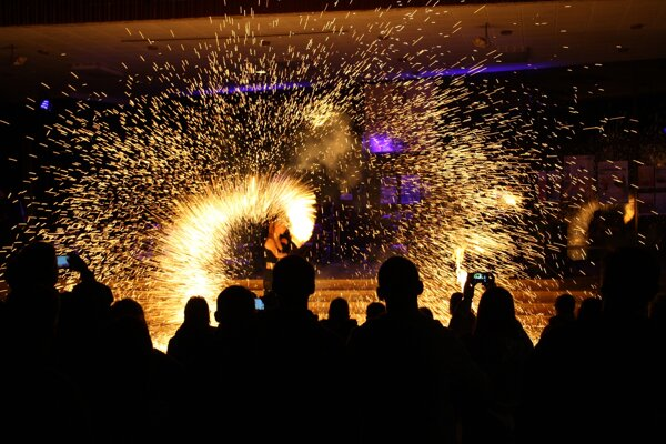 Súčasťou Bojnického letného slnovratu bude aj tentoraz ohňová šou.