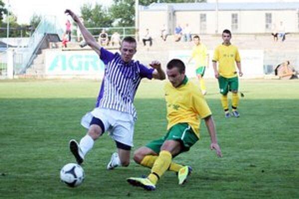 Z predchádzajúcich zápasov Komárna s V. Ludincami.