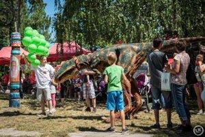 Dinosauri boli jedným z lákadiel podujatia