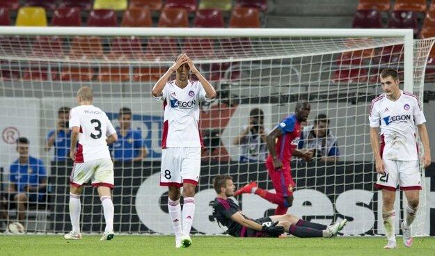 Trenčín vlani takmer postúpil. Po domácej prehre 0:2 vyhral v Rumunsku 3:2.