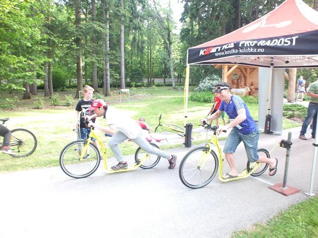 Letný biatlon bol aj o veľkej zábave.