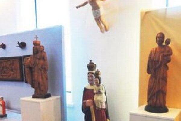 Záber z Vašekovej expozície.