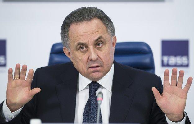 Doping ruských športovcov mala kryť vláda. Na snímke minister športu Vitalij Mutko.