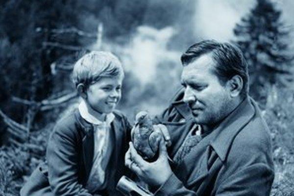 Hlavným hrdinom filmu je chlapec Rudko. FOTO - ARCHÍV SFÚ