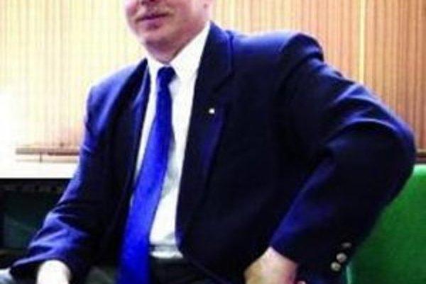 Peter Baďura, predseda Karate klubu.