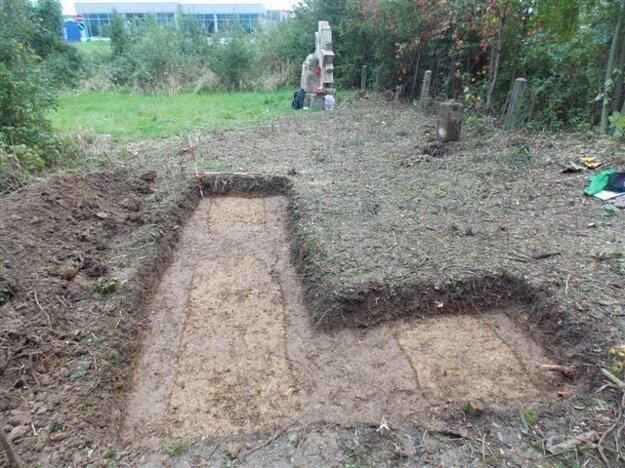 Sonda, ktorú robil archeológ Martin Kvietok