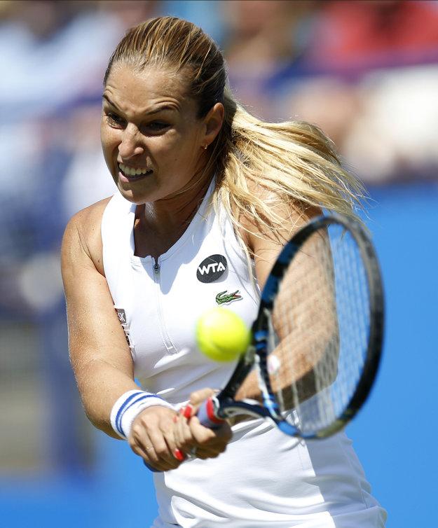 Dominika Cibulková v piatok zápas otočila.