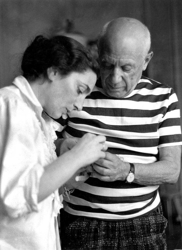 Opálenému Pablovi Picassovi štýl breton T-shirt vždy pristal.