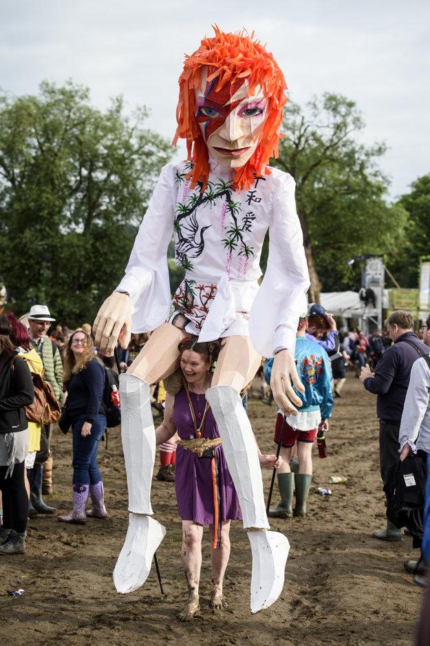 Festival ponúkol aj rôzne podoby Davida Bowieho.