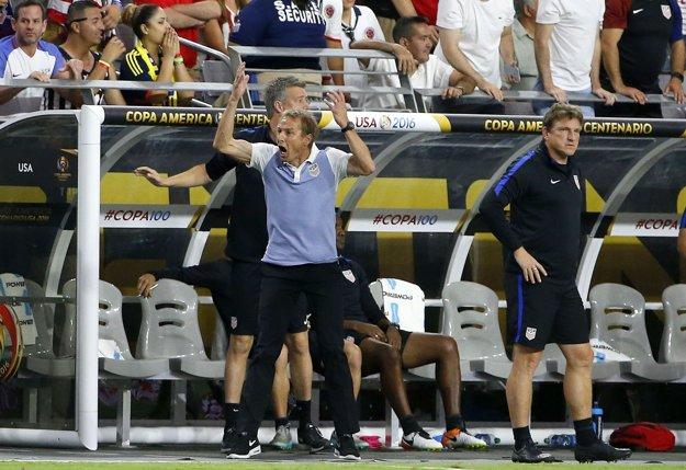Jürgen Klinsmann vedie v súčasnosti USA.