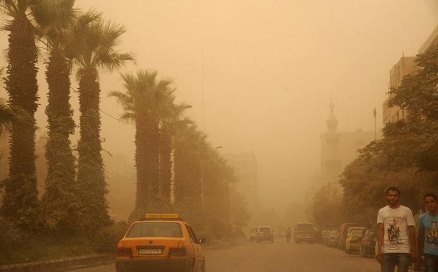 Počasie v Sýrii