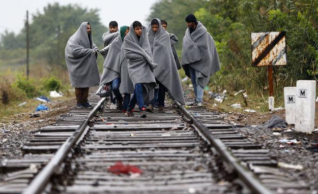Utečenci v Maďarsku
