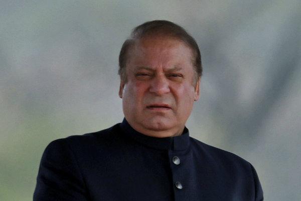Bývalý pakistanský premiér Naváz Šaríf.
