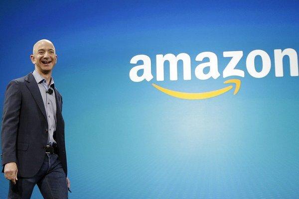 Zakladateľ Amazonu Jeff Bezos.