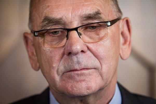 Predseda Najvyššieho kontrolného úradu Karol Mitrík.