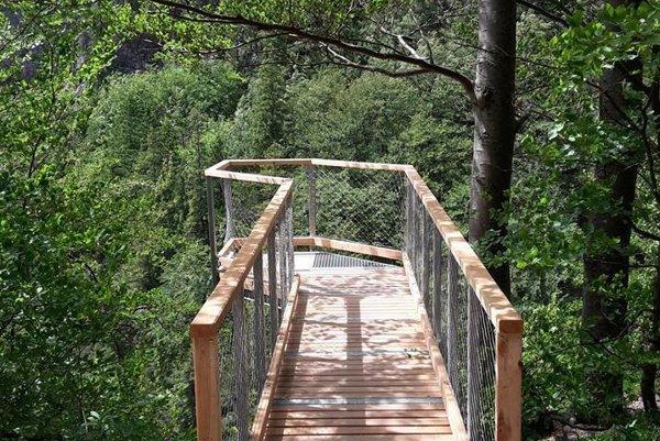 Nová vyhliadka umožní bezpečné výhľady na kaňon Kvačianky.