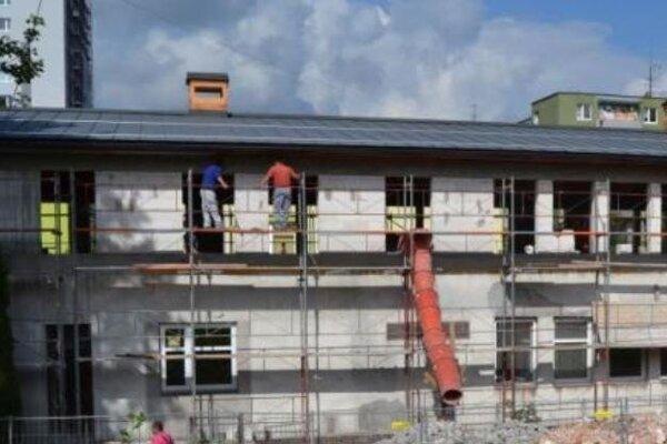 Rekonštrukcia materskej školy na sídlisku Šárky.