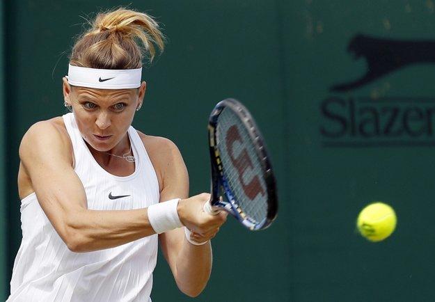 Lucie Šafářová bola nad sily slovenskej tenistky.