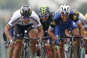 Sagan bol v závere najrýchlejší.